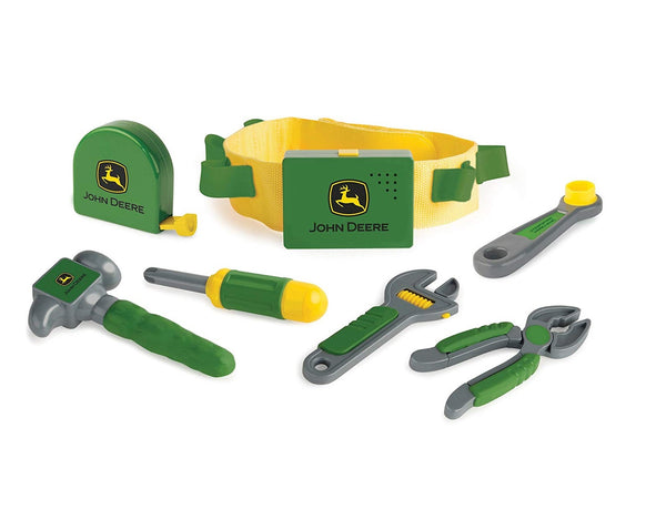 John Deere 35070 Preschool Talking Tool Belt, Green/Yellow