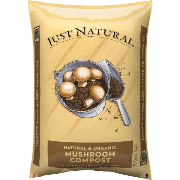 Just Natural 50050004 Mushroom Compost