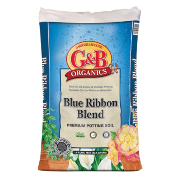 Kellogg 8040 G&B Organics Blue Ribbon Blend Premium Potting Soil, 1.5 Cubic Feet