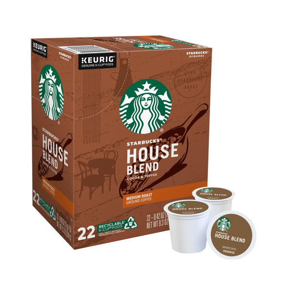 Keurig 5000346315 Starbucks Cocoa and Toffee Coffee K-Cups