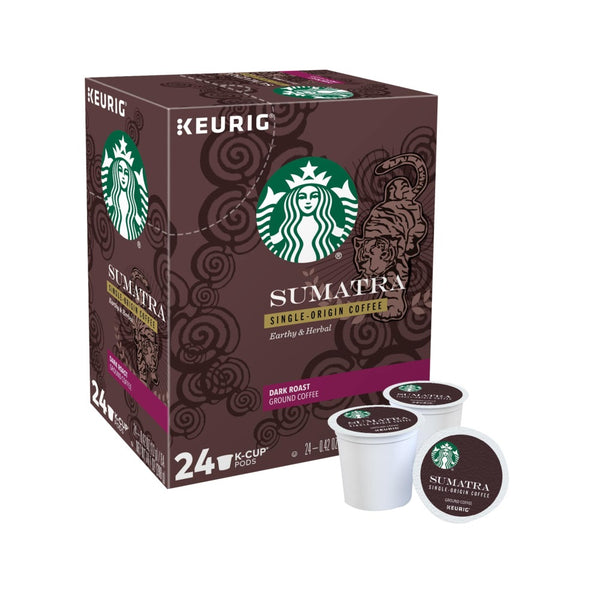 Keurig 5000356552 Starbucks Dark Roast K-Cup Coffee Pods