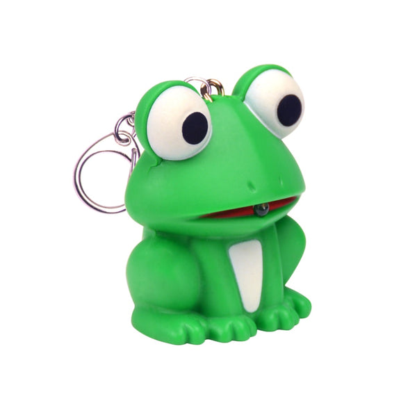 KeyGear 50-KEY0013 Frog Light Key Chain, Green