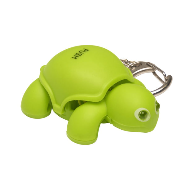 KeyGear 50-KEY0133 Turtle Light Key Chain, Green