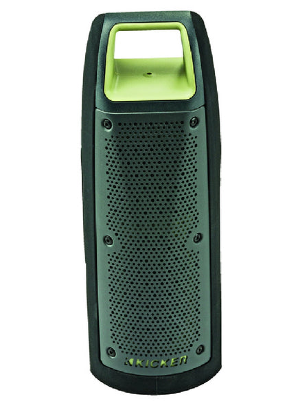 Kicker 44BF100G Bullfrog Bluetooth Waterproof Speaker, Green