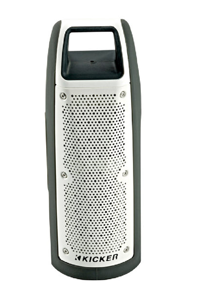 Kicker 44BF100GY Bullfrog Portable Bluetooth Speakers, Gray