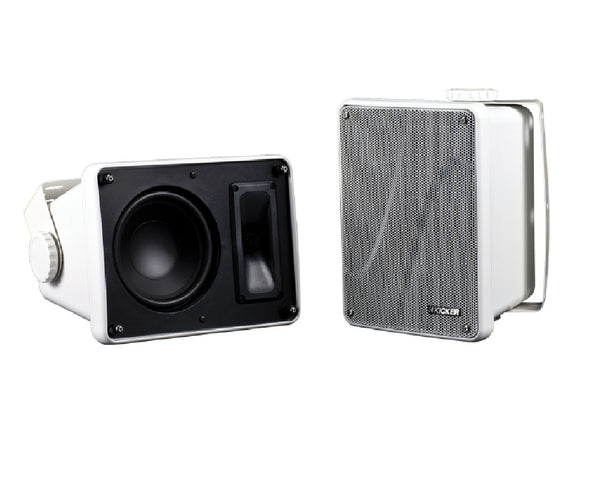 Kicker 11KB6000W Wired Speaker System, White