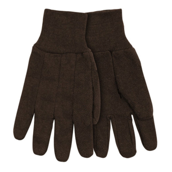 Kinco 820PD-L 9 Oz Brown Jersey Glove, Large