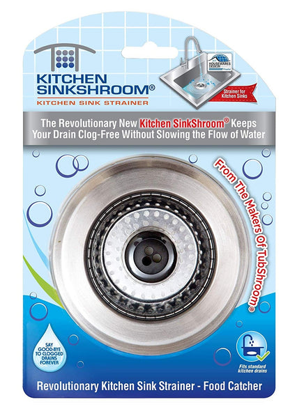 Kitchen SinkShroom KSS682 Sink Strainer Drain Protector, Stainless Steel
