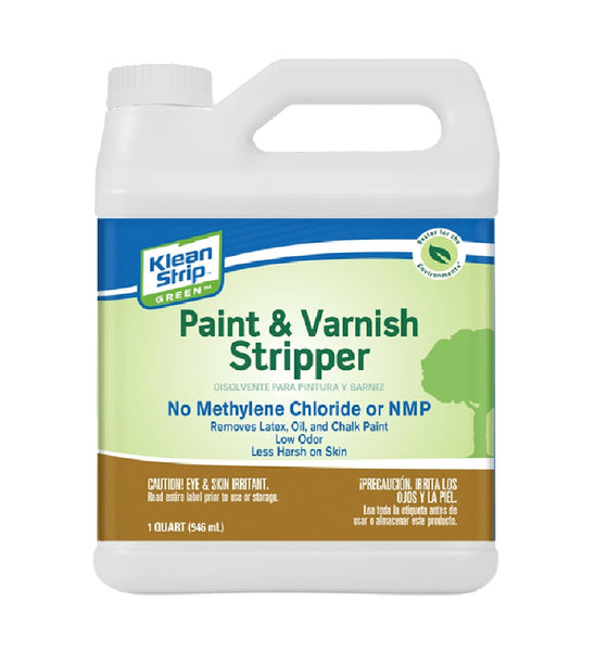 Klean Strip QKGS75023 Paint & Varnish Stripper, 32 Oz