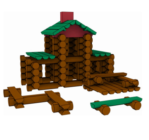 Knex 00842 Lincoln Logs Classic Meetinghouse Building Set