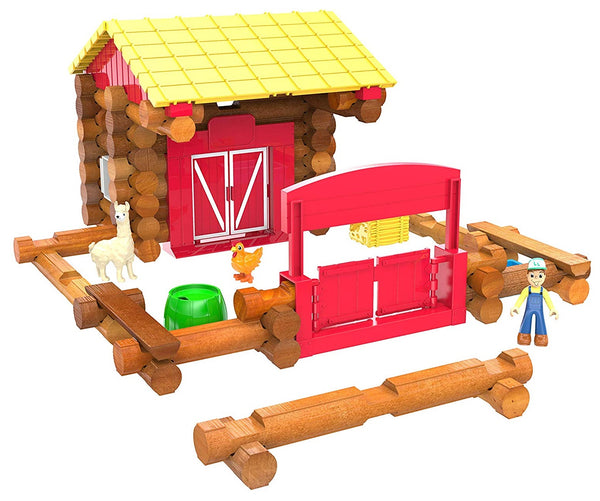 Knex 00858 Lincoln Logs Fun on the Farm Building Set