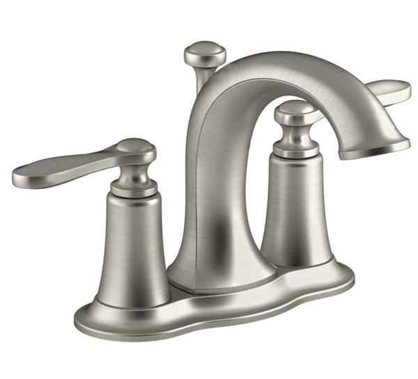 Kohler R45780-4D1-BN Linwood Two Handle Lavatory Faucet, Brushed Nickel