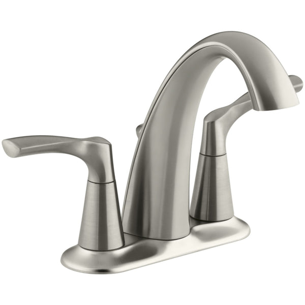 Kohler R37024-4D1-BN Mistos Two Handle Lavatory Faucet, Brushed Nickel