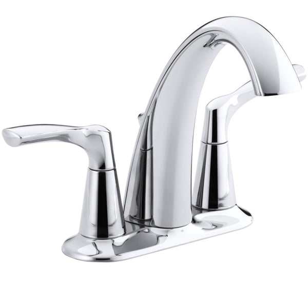 Kohler R37024-4D1-CP Mistos Two Handle Lavatory Faucet, Polished Chrome