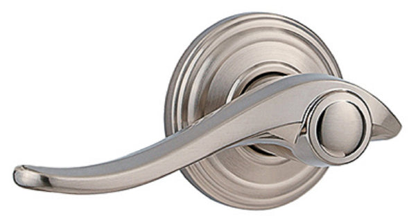 Kwikset 788AVL RH 15 RLVR Avalon Right Hand Dummy Lever, Satin Nickel