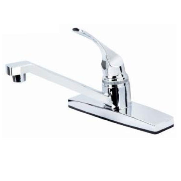LDR 012 1105CP-CG Single Handle Non Metallic Kitchen Faucet, Chrome