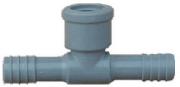 Lasco 1402007RMC Poly Female Pipe Thread Insert Tee, 3/4 Inch