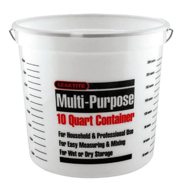 Leaktite 10Q12NM0012 Multi Purpose Pail, 10 Quart