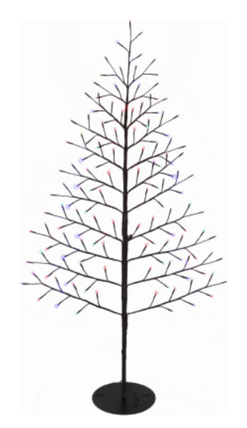 Ledup Manufacturing 9418015BR-02T Christmas LED Branch Wall Tree, 72 inch