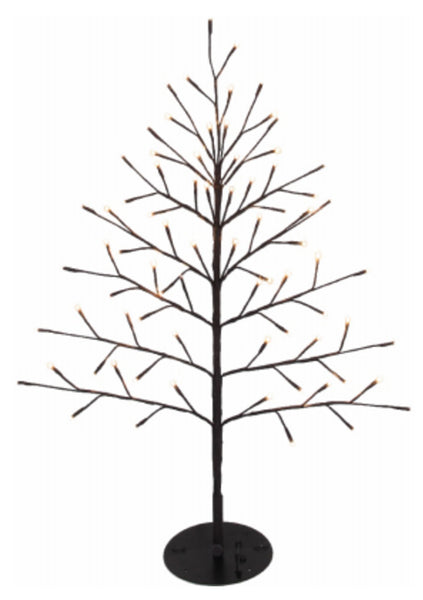 Ledup Manufacturing 9418013BR-01T Christmas LED Branch Wall Tree, 40 inch