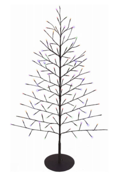 Ledup Manufacturing 9418014BR-02T Christmas LED Branch Wall Tree, 50 inch