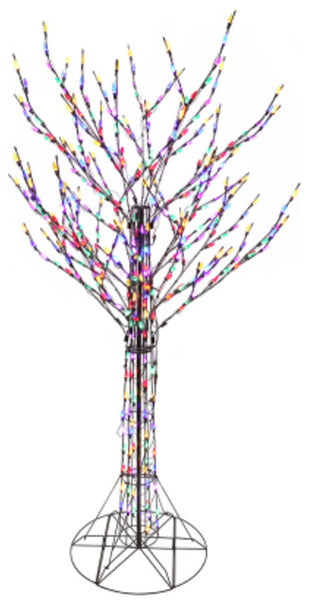 Ledup Manufacturing 10205-0020 Christmas Twinkling Bare Branch Tree, 8 feet