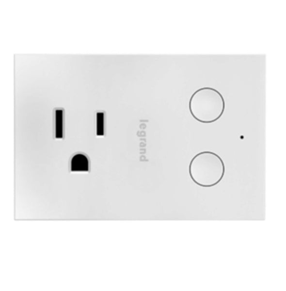 Legrand HKRP20 On-Q WiFi Smart Plug-In Dimmer, White