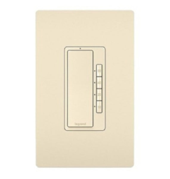 Legrand RT2LACCV4 4-Button Digital Timer, Light Almond