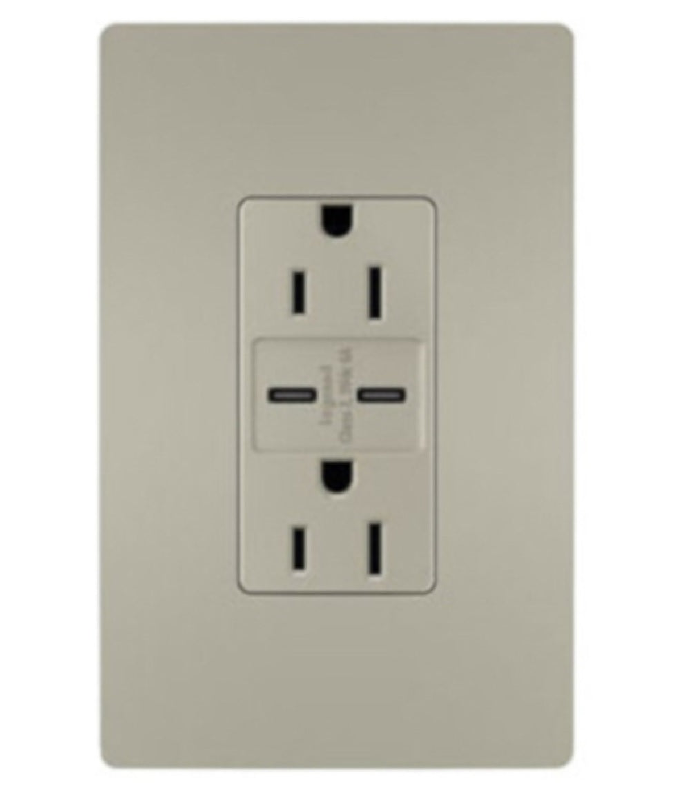 Legrand R26USBCC6NICCV4 C Type Decorator USB Charger Wall Plate, 15 Amps