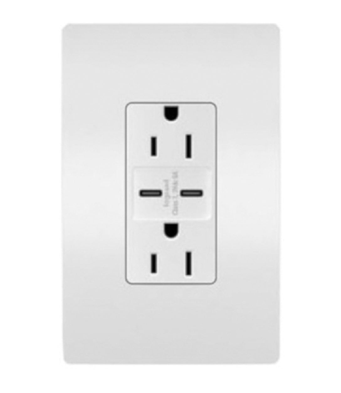 Legrand  R26USBCC6WCCV6 C Type Decorator USB Charger Wall Plate, 15 Amps