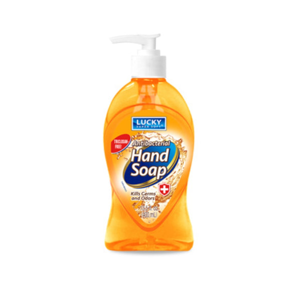 Lucky Super Soft 3103-12 Antibacterial Hand Soap, 13.5 Oz