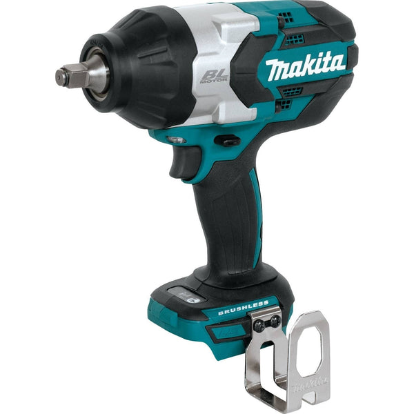 Makita XWT08Z Brushless Cordless High Torque Impact Wrench, 18 Volt