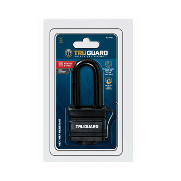Master Lock 1804DLHTG Tru-Guard Laminated Steel Padlock, 1-9/16""