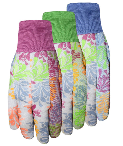 Midwest Quality Gloves 528H8 Gardening Glove, Assorted Colors