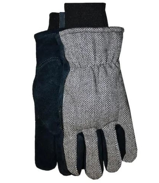 Midwest Quality Gloves 457THKW-M Thinsulate Lined Leather Palm Glove, Medium