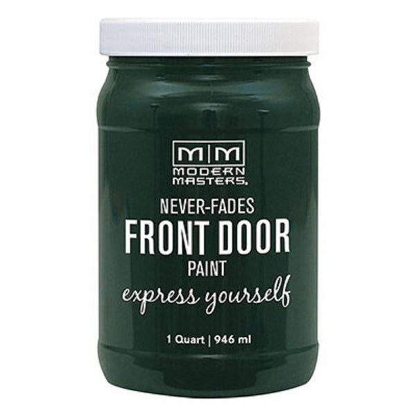 Modern Masters 275279 Interior/Exterior Water-Based Front Door Paint, Successful, 1 Quart