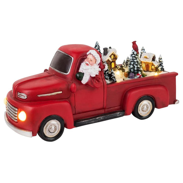 Mr. Christmas 22842 Christmas Animated Scene Truck, Red