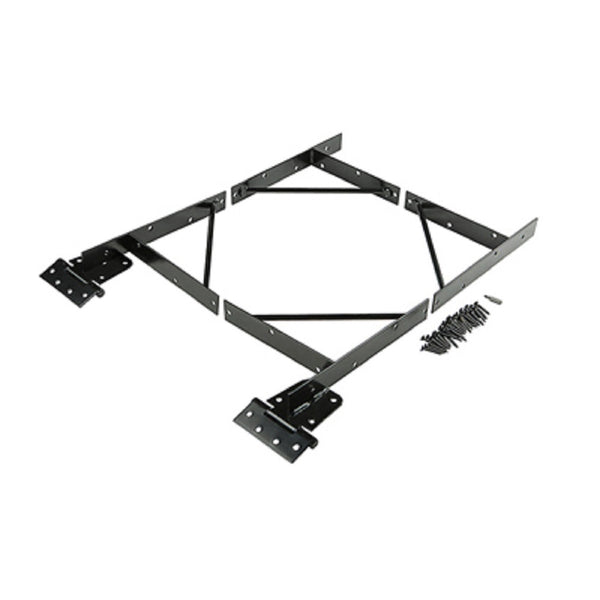 National Hardware N109-060 Anti-Sage Gate Kit, Black
