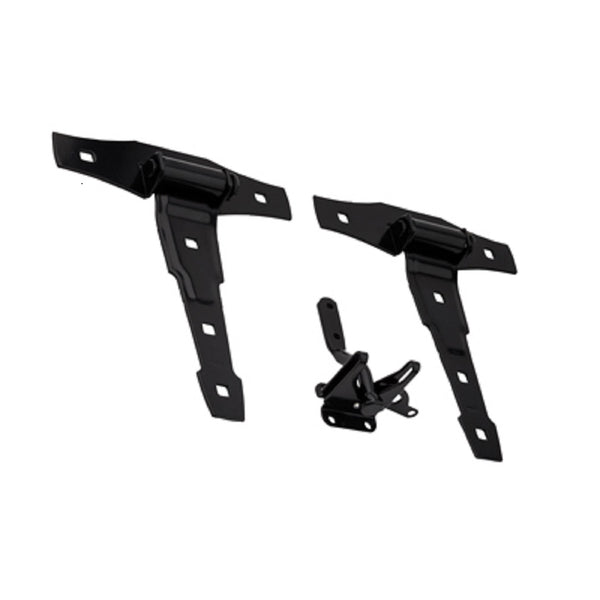 National Hardware N109-025 Deco Gate Set Kit, Black
