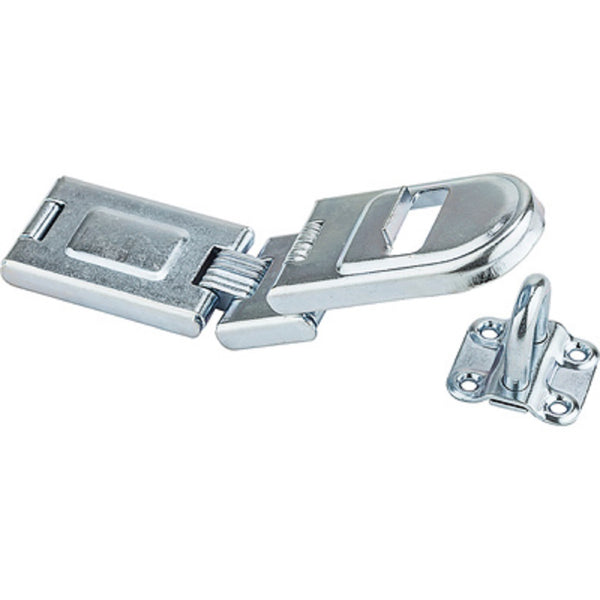 National Hardware N226-512 Hinged Safety Hasp, 7-3/4 Inch