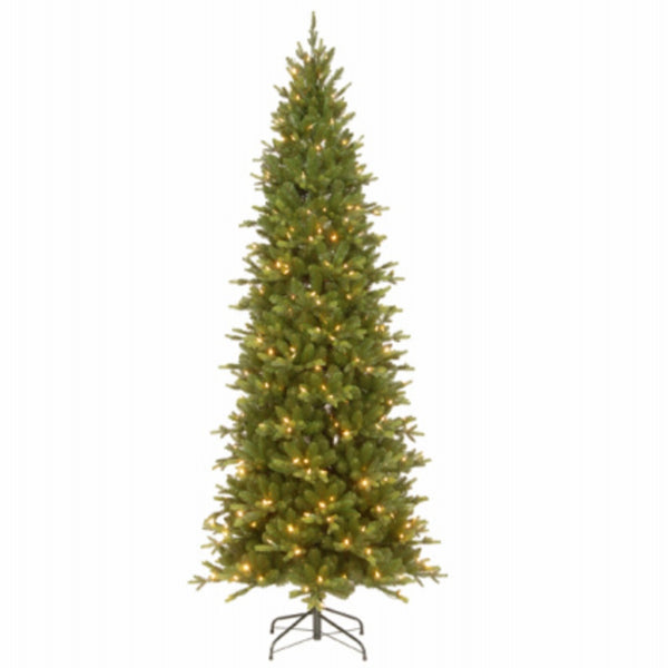 National Tree PEAS2-310-75 Slim Hinged Artificial Christmas Tree, 7.5 Feet