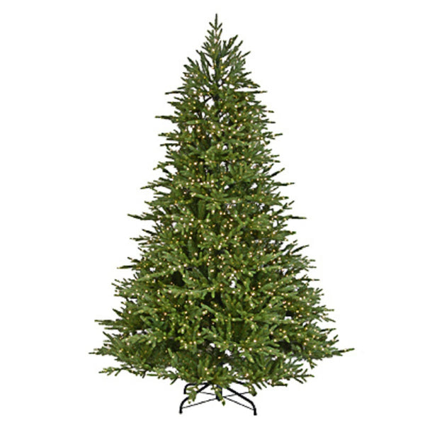 National Tree PEBI2-DY95-75 Spruce Hinged Artificial Christmas Tree, 7.5 Feet