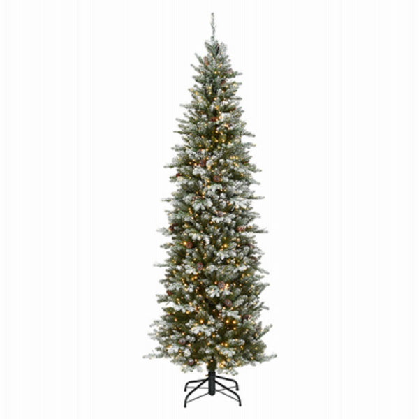 National Tree PEMG3-DK09-75 Feel Real Artificial Hinged Tree, 7.5 Feet