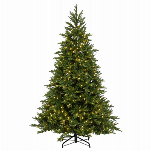 National Tree TPEHU2-308P-75 Feel Real Artificial Hinged Tree, 7.5 Feet