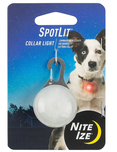 Nite Ize PSLG-10-R6 SpotLit LED Collar Light, Plastic