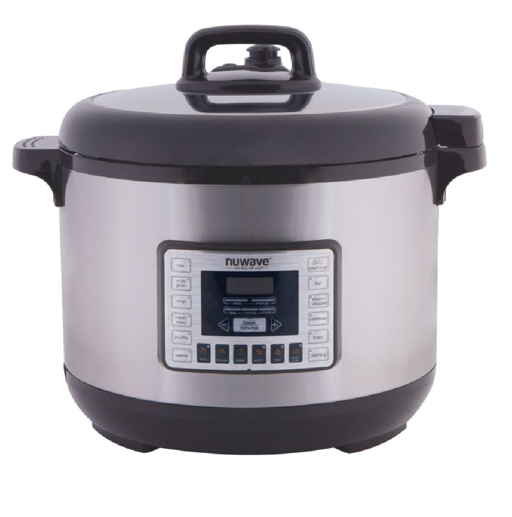 Nuwave 33501 Electric Pressure Cooker, Stainless Steel, 13 Quart
