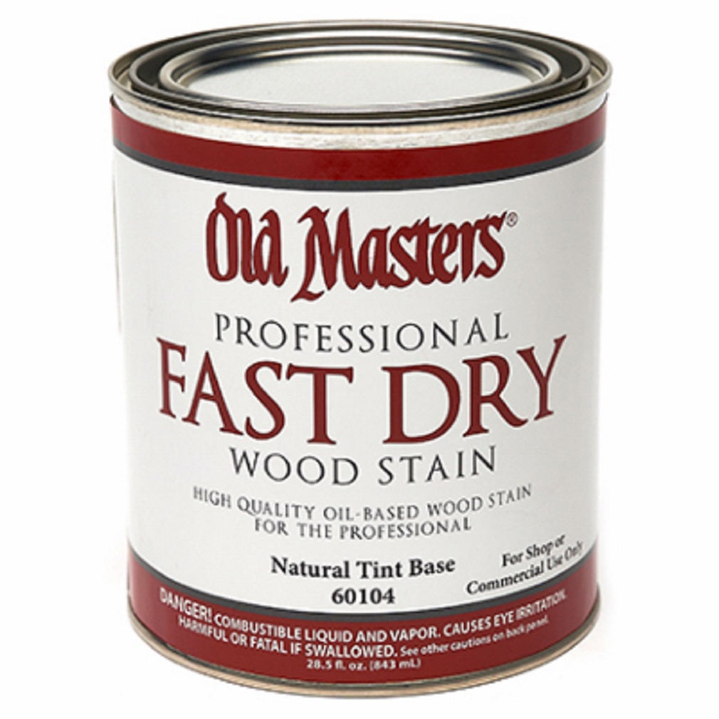 Old Masters 60104 Natural Fast Dry Stain, Oil Based, 1 Quart