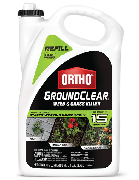 Ortho 4613504 GroundClear Weed & Grass Killer, Gallon
