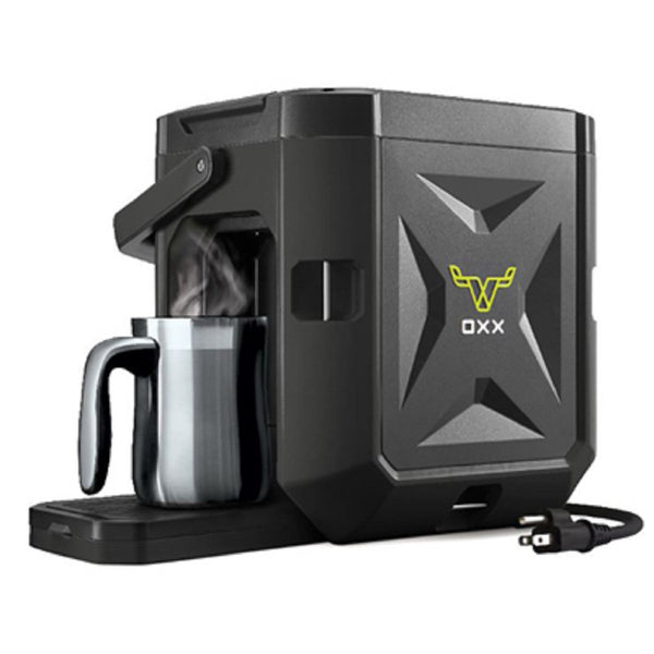 Oxx Coffeeboxx CBK250B Single Serve Coffee Maker, Black