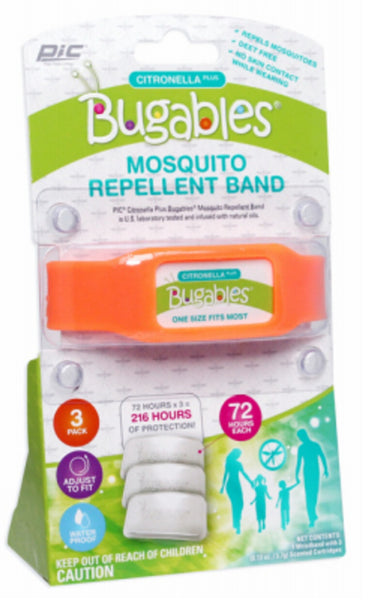 PIC ACTBND Bugables Mosquito Repellent Silicone Band